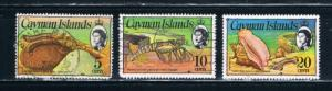 Cayman Islands 334;338;341 Used Sea Life (C0022)
