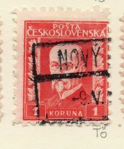 Czechoslovakia 1926-27 Issue Fine Used 1k. NW-148585