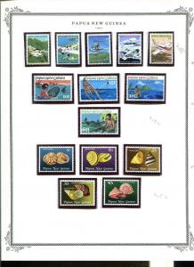 Papua New Guinea 1981-1986 Mini Collection In Mounts MNH All Pictured CV $245.00