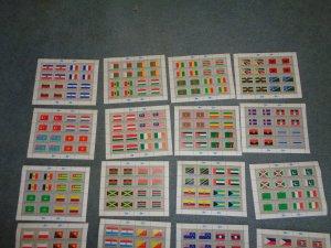 UNITED NATIONS FULL FLAG SHEET COLLECTION, MNH, OG