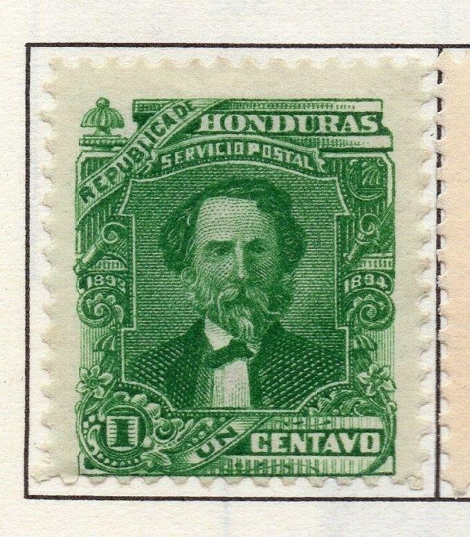 Honduras 1893 Early Issue Fine Mint Hinged 1c. 175719