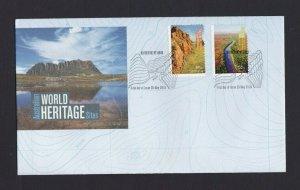 AFD1405) Australia 2010 Australian World Heritage Sites FDC