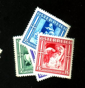 Austria #B142-5 MINT VF OG NH Cat $14
