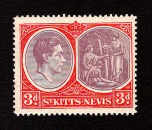 ST. KITTS AND NEVIS  SC# 84  FVF/MNH