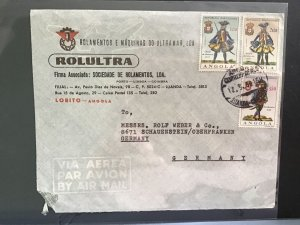 Angola 1966 Rolultra Air Mail to Germany  stamp cover  R31612
