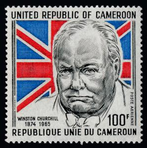 Cameroun C211 MNH Winston Churchill, Flag
