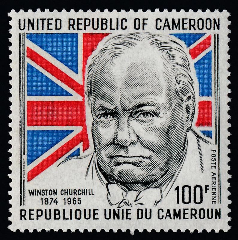 Cameroun C211 MNH Winston Churchill, Flag