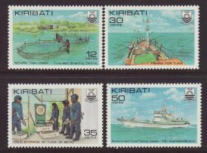 1981 Kiribati Fishing Set Mint