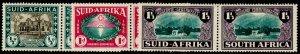 SOUTH AFRICA SG82-84, 1939 Huguenot SET, M MINT. Cat £50.
