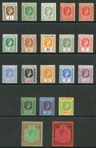 Leeward Is SG95/114c KGVI Set U/M (a few low values are m/m)