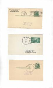 US Naval Cards  USS Frank E. Evans, Henry W. Tucker & Soley