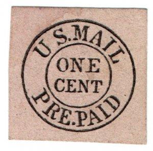 (I.B) US Local Post : US Mail 1c