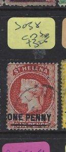 ST HELENA  (P0705BB)  QV  1 D  SG 38   CDS    VFU