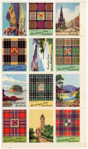 (I.B) Cinderella Collection : Scottish Views Charity Stamps (1)