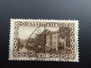 Germany  Saargebiet 1926  Sc.#125