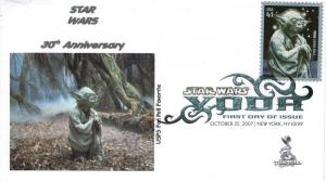 Star Wars/Yoda FDC from Toad Hall Covers!  (#1)