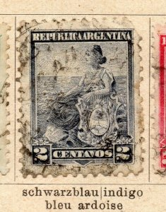 Argentina 1899 Early Issue Fine Used 2c. NW-11758