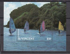 Z2901 1988 st vincent s/s mnh #1199 windsurfing