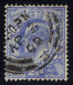 Great Britain #131 King Edward VII, used (11.50)