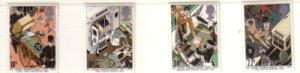 Great Britain Sc 1180-3 1987 St John Ambulance stamp set mint NH