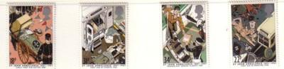 Great Britain Sc 1180-3 1987 St John Ambulance stamp set mint NH