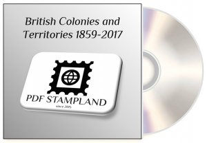 British Colonies and Territories 1859-2017 (4 albums) PDF STAMP ALBUM PAGES