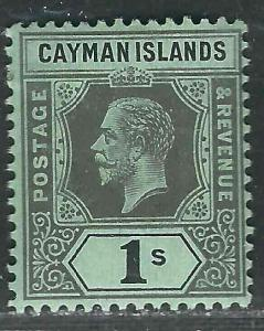 Cayman Is 40 SG 48 MLH F/VF 1916 SCV $4.25
