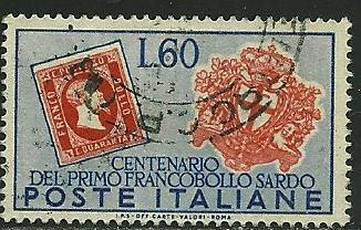 Italy # 589, Used