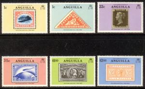 Anguilla Sc# 349-54 MNH Sir Rowland Hill / Stamps