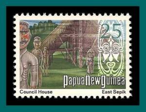 Papua New Guinea 1973 Council House, MNH  381,SG253