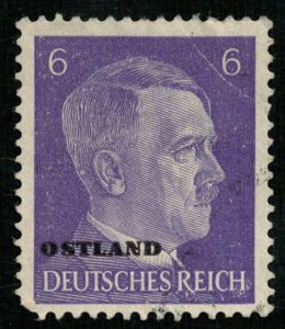 Reich, 6 Pf,  Germany, Ostland (3447-Т)