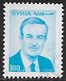 Syria # 1365 - President Assad - used.....{Gn16}