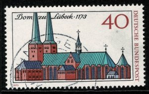 GERMANY 1973 800th ANNIV of LUBECK CATHEDRAL USED (VFU) P.14 SG1672 SUPERB