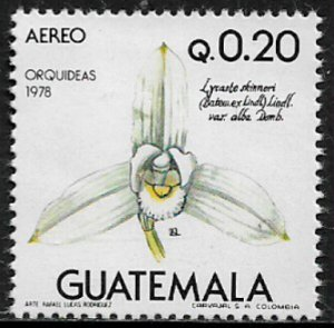 Guatemala #C661 MNH Stamp - Orchids - Flowers