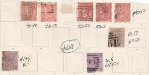 GREAT BRITAIN COLLECTION LOT 1865+ $608 SCV MOUNTED