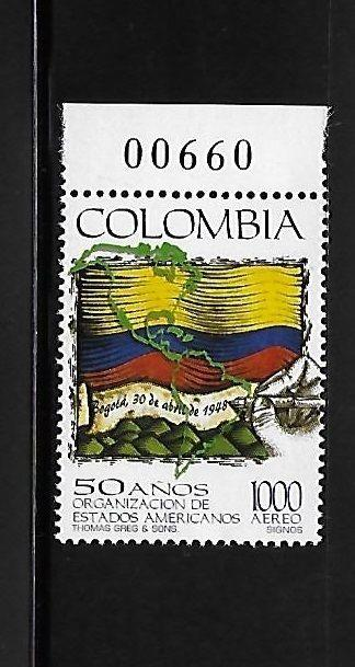 Colombia 1998 Organisation of American states MNH A373