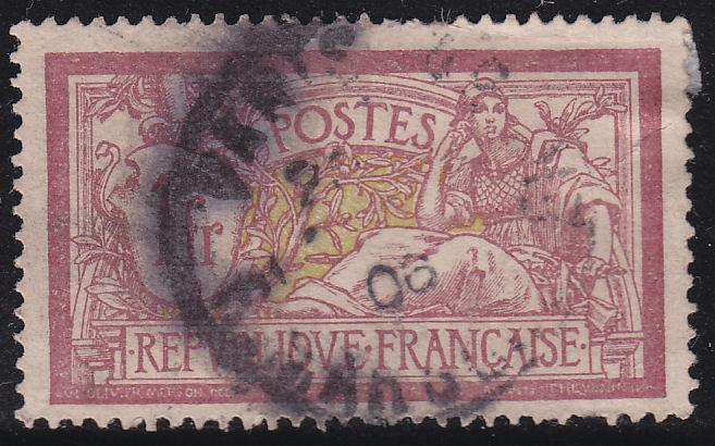 France 125 Liberty and Peace 1Fr 1900
