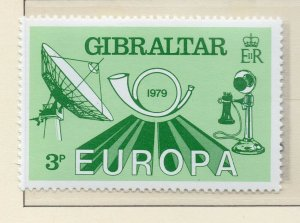 Gibraltar 1979 QEII Early Issue Fine Mint Unmounted 3p. NW-99288