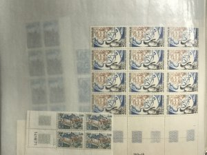 Reunion MNH Wholesale Lot CV€22,000 Full and Partial Sheets 1950-1974