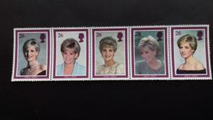 Great Britain 1998 The Death of Princess Diana Mint