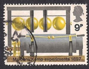 Great Britain #679 9P BBC Spark Transmitter used VF