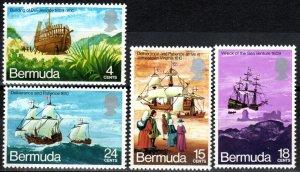 Bermuda #280-83 MNH CV $7.80 (X6984)