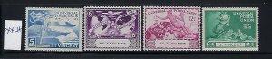 ST VINCENT - SCOTT #170-73 1949 UPU ISSUE- MINT XXXLIGHT HINGED