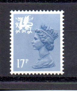 Great Britain - Wales WMMH30 MNH