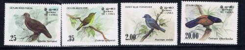 Sri Lanka 691-94 Lightly Hinged 1983 Birds