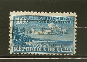 Cuba C5 Airmail Used