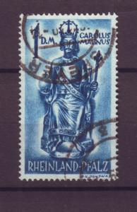 J20665 Jlstamps 1948 germany rhine hv of set used #6n29 french occupation