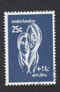 Netherlands Antilles  #B80  1967 used  helping hands  25 ct