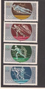 GERMANY - DDR SC# 2384-7 F-VF MNH 1983