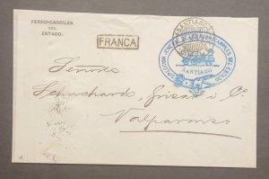 O) CHILE, GENERAL DIRECTORATE OF STATE RAILWAYS,  DIRECCION GENERAL DE LOS FER